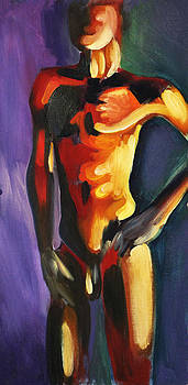 Figure Color Study Two by James Strohmeyer