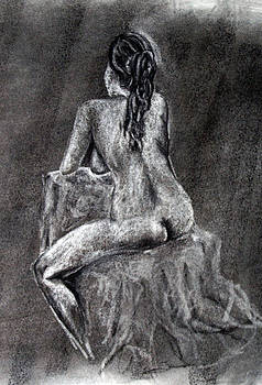 Figure Drawing 2 by Corina Bishop