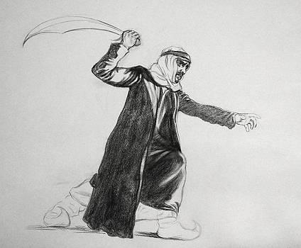 Figure Study for 1001 Arabian Knights by Jennifer Soriano