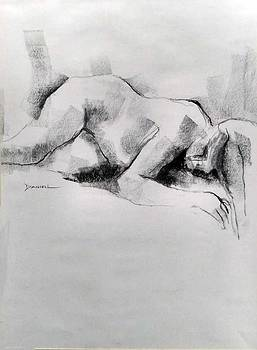 Figure Study by Frank Daniell