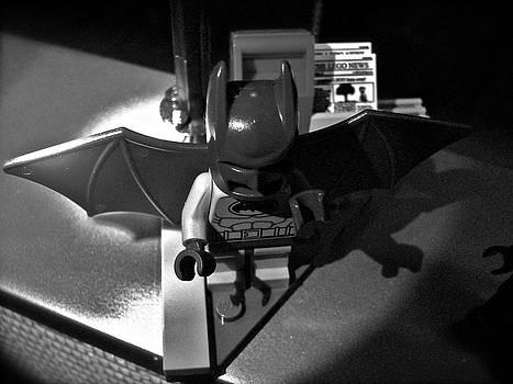 Sandy Tolman - Figures at Work - Batman 3376 - BW