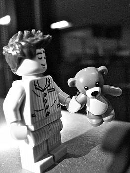 Sandy Tolman - FIgures at Work - Boy and Bear - 3235 - BW