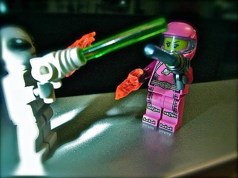 Sandy Tolman - Figures at Work - Space Girl 3258