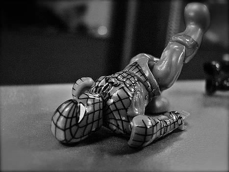 Sandy Tolman - Figures at Work - Spiderman 3465 - BW