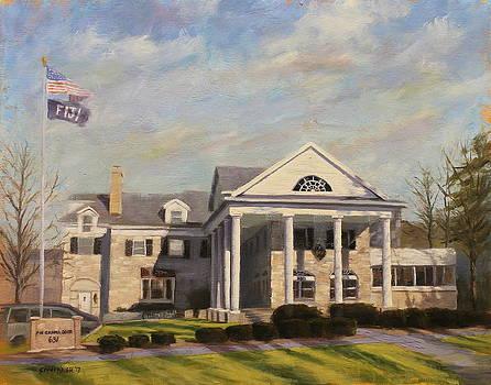 Fiji Fraternity House IU Indiana University by Steve Haigh
