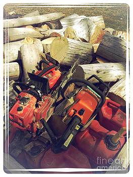 Filling the Wood Shed by Garren Zanker