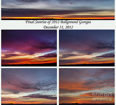 Final 2012 Sunrise Combo by Michael Waters
