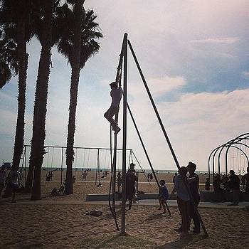 Finally Made It Here #muscle #beach by Ann Marie Donahue
