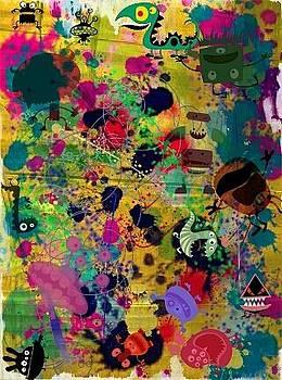 Find me a monster by Denisse Del Mar Guevara