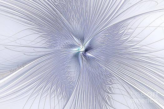 Fine Cut Crystal Flower by Nan Engen