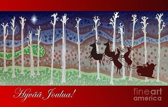 Alan Hogan - Finnish Christmas Card