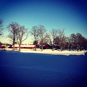 Fint Med Massa Snö I Skärplinge by Andrea Romero