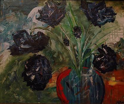Fiore Azzurro by Shirley Barone