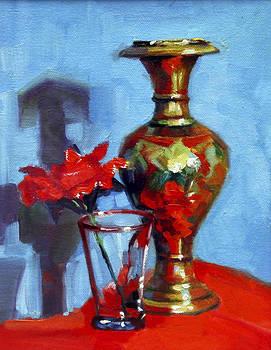 Fiower Pot by Sangeeta Takalkar