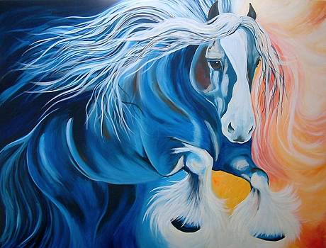 Fire and Blue Ice by Alisha Lang
