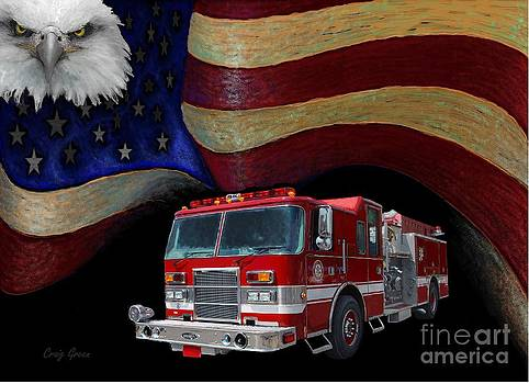 Fire Department America by Craig Green