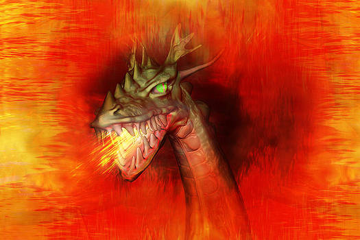 Fire Dragon by Carol and Mike Werner