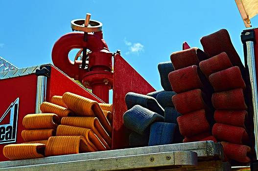 Fire Engine Equipment by Sharon L Stacy