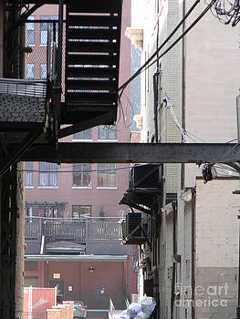 Fire Escape by Jacob Bucy
