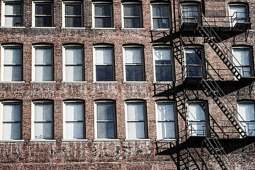 Fire Escape by Jeff Swanson