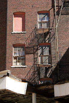 Fire Escapes by Patricio Lazen