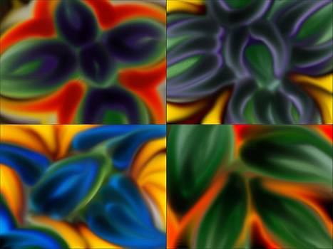 Fire Flower by Jan Edward Vogels