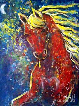 Fire Horse by Relly Peckett