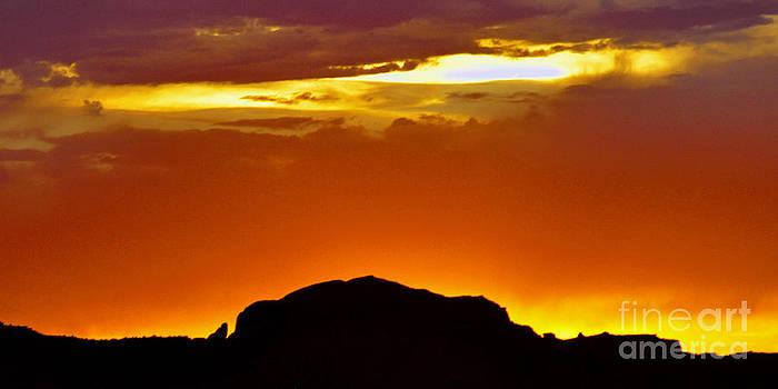 Fire In The Sky  by Juls Adams