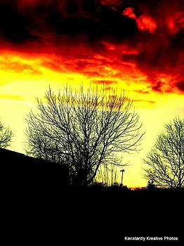 Fire in the Sky by Misty Herrick