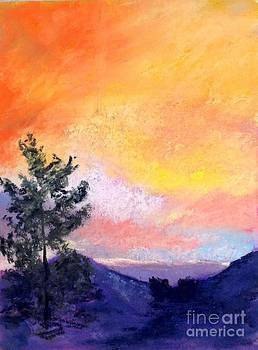 Fire in the Sky by Rosemary Juskevich