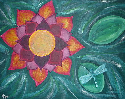 Fire Lotus by Angie Butler