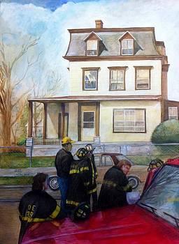 Fire Next Door by Nigel Wynter