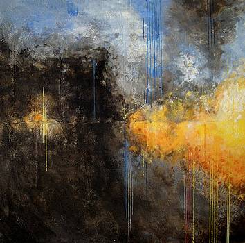Fire on the Lake by Jenn Wertz