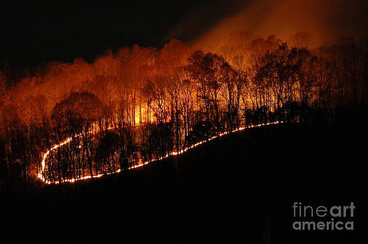 Fire on the Mountain by Steven Townsend