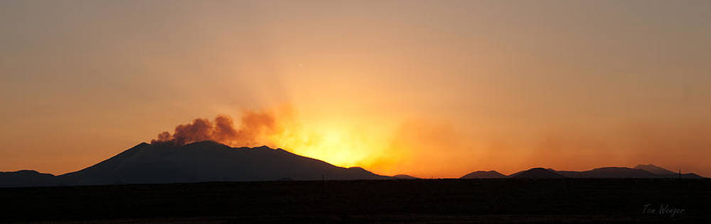 Fire On The Mountain by Tom Wenger