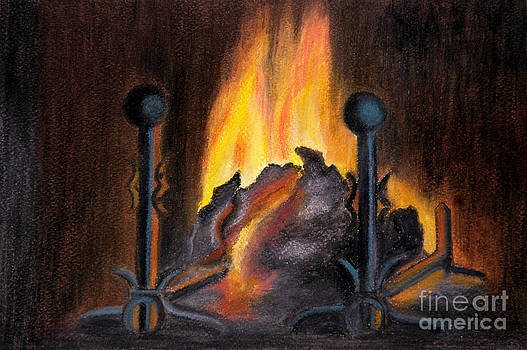 Fire Place by Shanthi Radhakrishnan