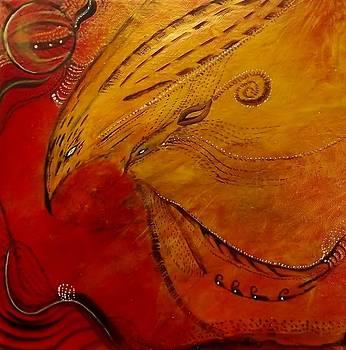 Fire Spirit Bird 1 by Chris Keenan