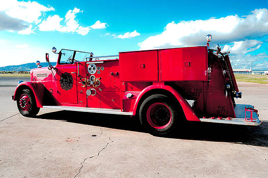 Fire Truck  by Lisa Cortez