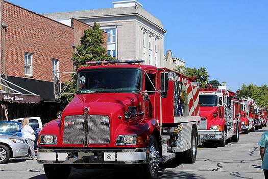 Fire Trucks by Carolyn Ricks