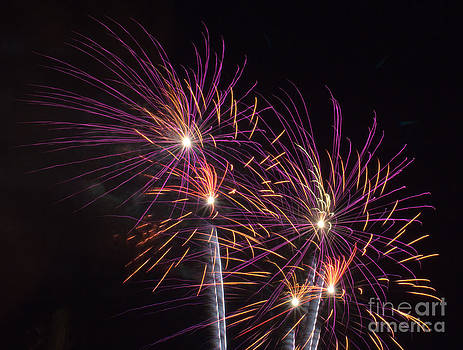 Fire Works by Tina Hailey