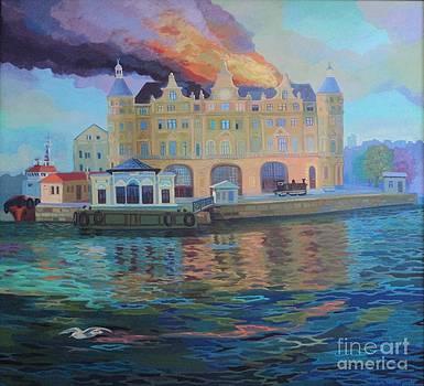 Fire by Yavuz Saracoglu