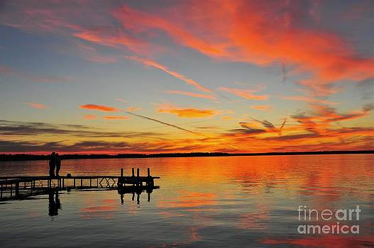 Firecracker Sunset by Terri Gostola