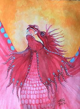 Firedragon by Maria Elena Gonzalez