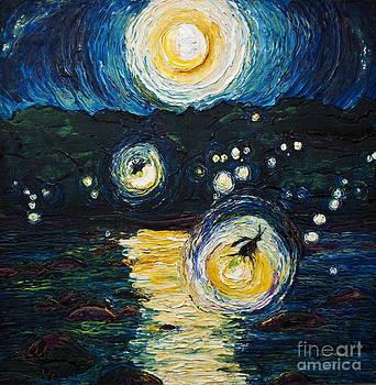 Fireflies Over the Susquehanna by Paris Wyatt Llanso