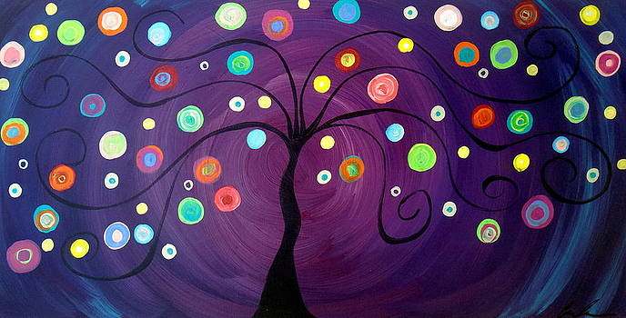 FireFly Tree by Carla MacDiarmid