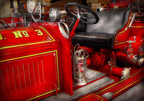 Mike Savad - Fireman - Fire Engine No 3
