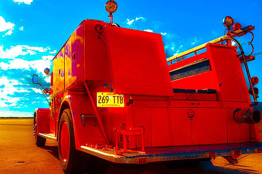 Firetruck Vividly by Lisa Cortez
