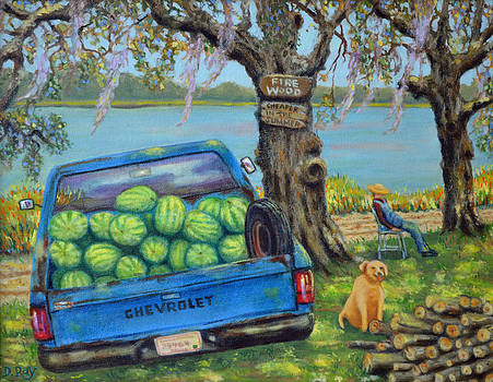 Firewood In July by Dwain Ray