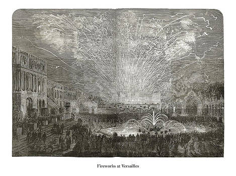 London Illustrated News - Fireworks at Versailles