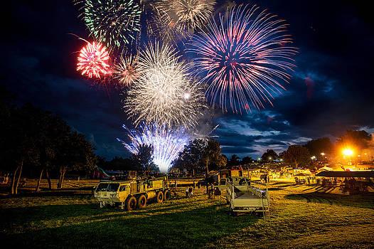 Fireworks by Benjamin King